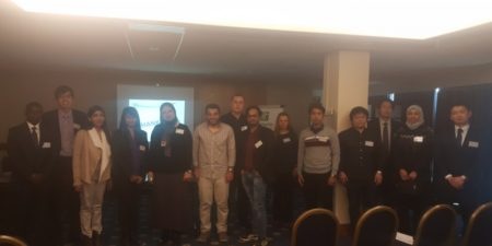 Best Presentation Awarded to Dr. Al Ghafri