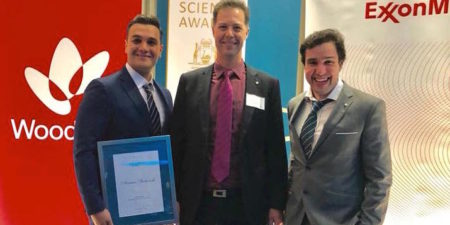 2018 Western Australian Premier's Science Award and ExxonMobil Student Scientist of the Year – Arman Siahvashi