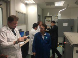 UWA Team Visit Saudi Aramco EXPEC Advanced Research Centre in