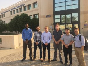 UWA Team Visit Saudi Aramco EXPEC Advanced Research Centre
