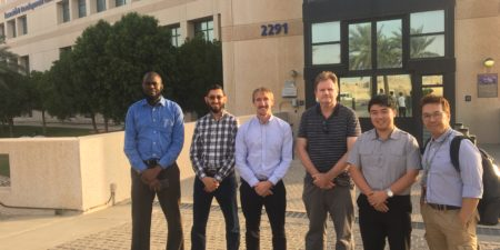 UWA Team Visit Saudi Aramco EXPEC Advanced Research Centre in Dhahran, Saudi Arabia