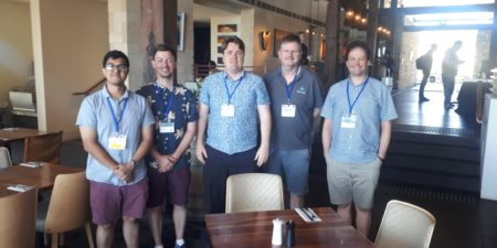 UWA Fluid Science and Resources NMR Group at ANZMAG 2019